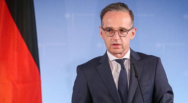Almanya Dışişleri Bakanı Maas: Almanya terörle mücadelede Irak'a desteğini sürdürecek