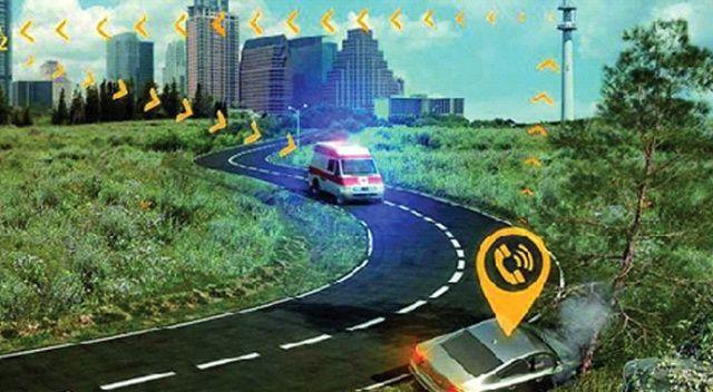 Araç içi acil çağrı sistemi eCall devreye giriyor