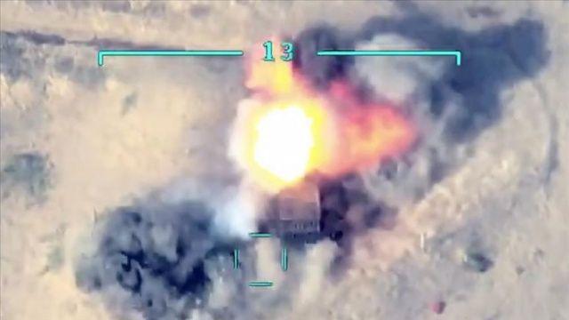 Azerbaycan, Ermenistan ordusunun tank, top ve füze sistemlerini imha etti
