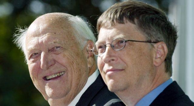 Bill Gates'in babası hayatını kaybetti