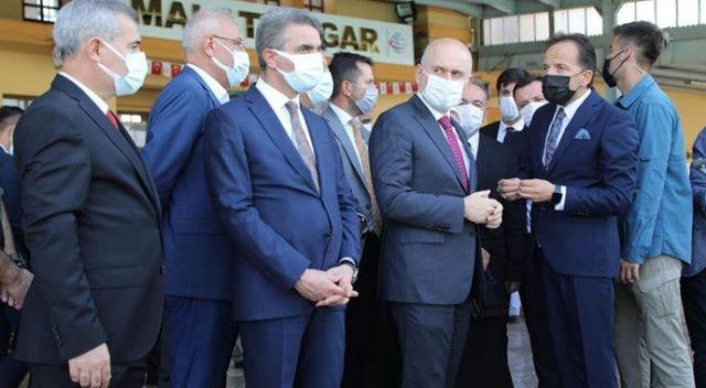 Bakanı Karaismailoğlu'ndan Yeşilyurt'a ray müjdesi