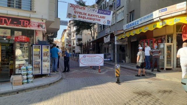 Biga'da bir mahalle ve sokak karantina altına alındı