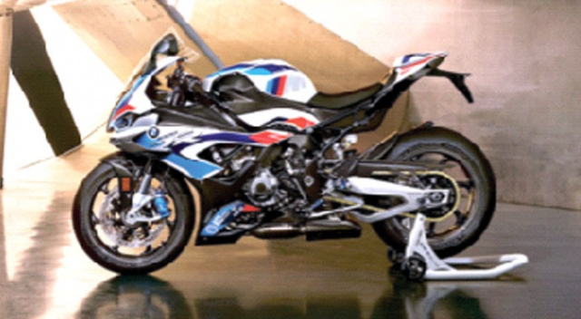 BMW M serisi motosiklette