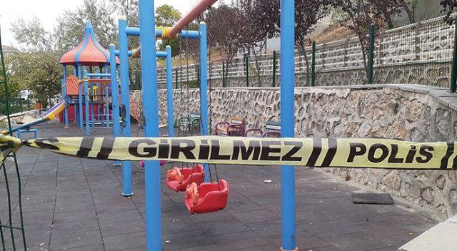 Boşanmak isteyen eşini parkta oynayan çocuğunun gözü önünde silahla vurdu