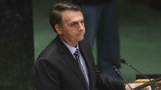 Brezilya Devlet Başkanı Bolsonaro: Maalesef medya panik havası oluşturarak salgını manipüle etti