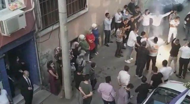Bursa'da halaylı gelin almaya ceza yağdı