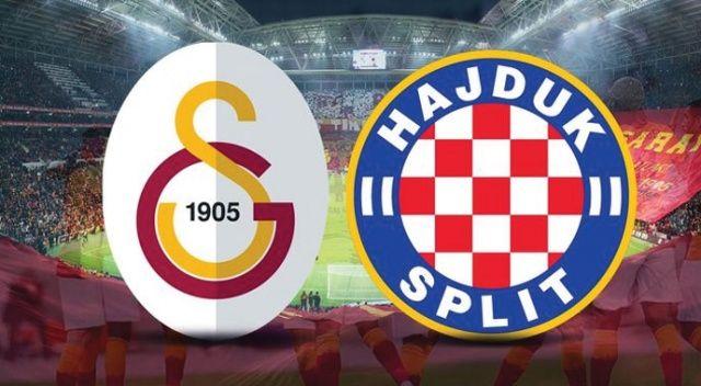 CANLI İZLE: Galatasaray 2-0 Hajduk Split şifresiz CANLI anlatım izle | GS, Hajduk maçı skoru kaç kaç?