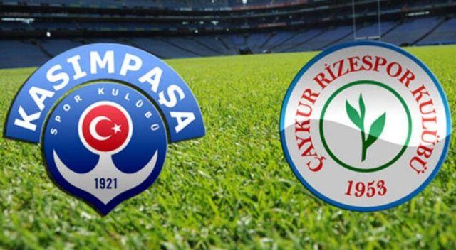 Kasımpaşa Rizespor maçı saat kaçta, hangi kanalda? (Kasımpaşa Rize maçı kaç kaç)