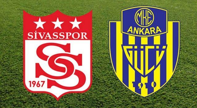 CANLI İZLE: Sivas Ankaragücü maçı şifresiz izle | Sivasspor Ankaragücü canlı skor kaç kaç?