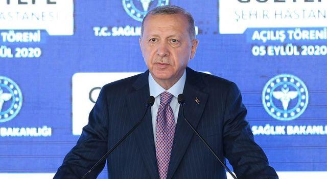 Cumhurbaşkanı Erdoğan'dan 'Doğu Akdeniz' mesajı: Ya masada ya sahada anlayacaklar