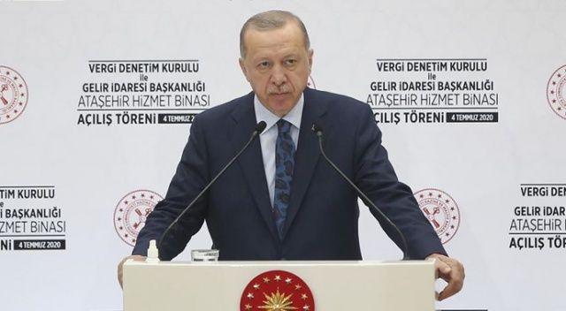 Cumhurbaşkanı Erdoğan, Gaziantep'te vatandaşlara hitap etti