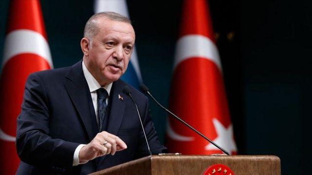 Cumhurbaşkanı Erdoğan, Macron ile görüşme gerçekleştirdi