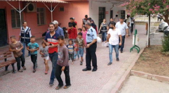 Dilendirilen Suriyeli 68 çocuk kurtarıldı