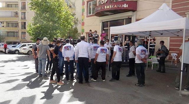 Evlat nöbeti 391'inci gününde: Aileler ile HDP'liler arasında gerginlik