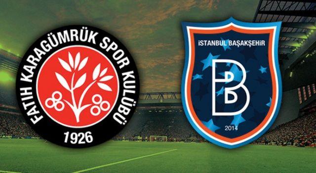 Fatih Karagümrük, evinde Başakşehir'i 2-0 mağlup etti