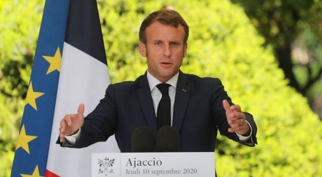 Fransa Cumhurbaşkanı Macron: Lukaşenko gitmeli