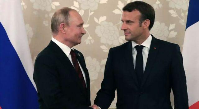 Fransa'da Macron-Putin görüşmesinin içeriğini paylaşan gazeteler hakkında soruşturma