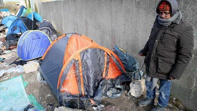 Fransa Ombudsmanı Hedon, Calais'deki sığınmacıların insanlık dışı koşullarda yaşadığını bildirdi