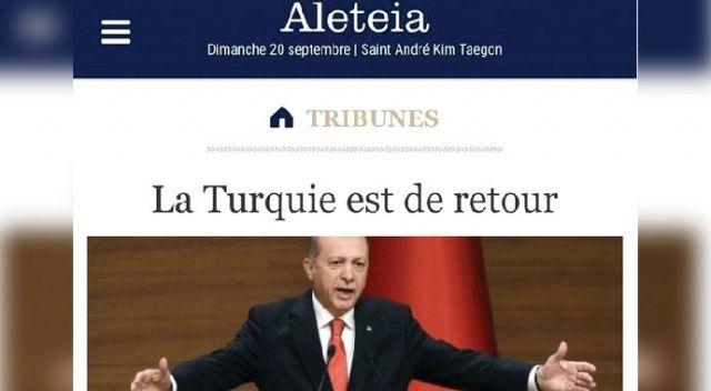 Fransızlar böyle duyurdu: Türkler geri döndü