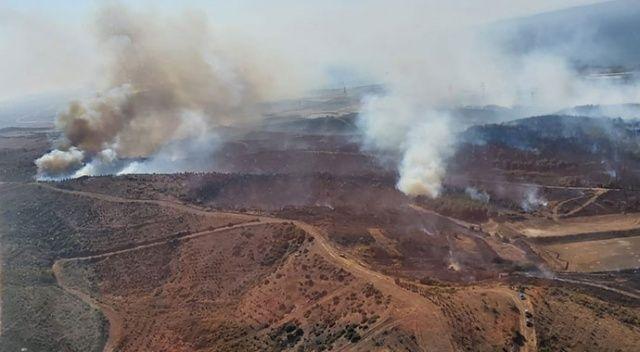 Kavakköy'deki orman yangını kontrol altına alındı