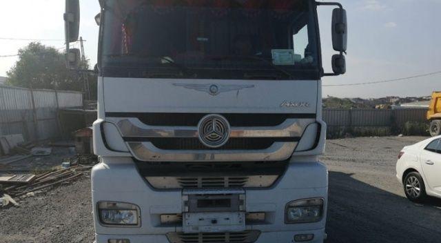 Hafriyat kamyonlarına yönelik yapılan denetimde ceza yağdı