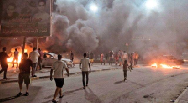 Hafter göstericilere  ateş açtı: 5 yaralı