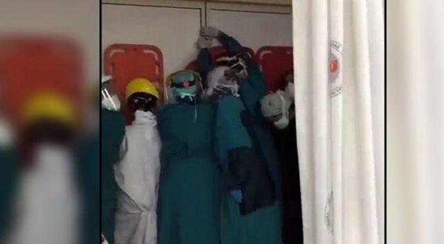 Hastane baskınına sert tepki: Sağlık çalışanları şamaroğlanı değil