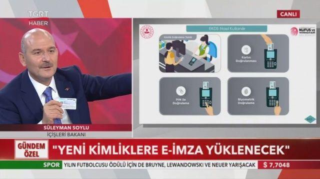 İçişleri Bakanı Süleyman Soylu açıkladı: Ehliyet ve kimlik bir arada oluyor