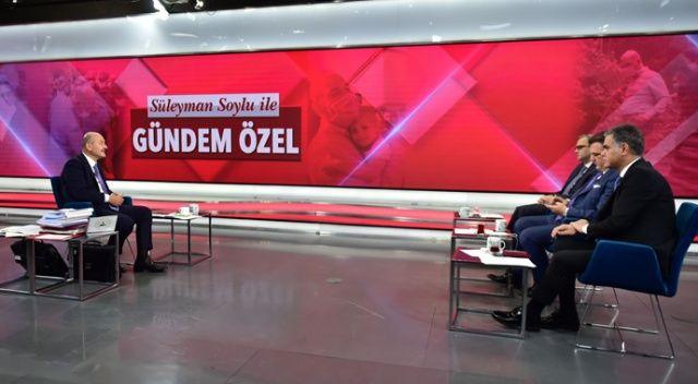 İçişleri Bakanı Süleyman Soylu, TGRT Haber'e konuştu: AYM'nin sicili çok kabarık