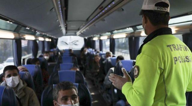 İçişleri Bakanlığı'ndan şehirler arası yolcu taşımacılığında HES kodu genelgesi