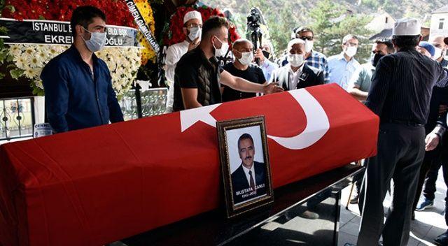 İSTAÇ Genel Müdürü Mustafa Canlı son yolculuğuna uğurlandı