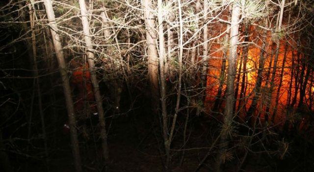 Kastamonu'da orman yangını: Köye 150 metre kala söndürüldü