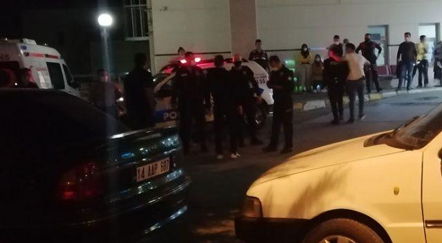 Kavga ihbarına giden polis ekiplerine saldırı: 6 yaralı