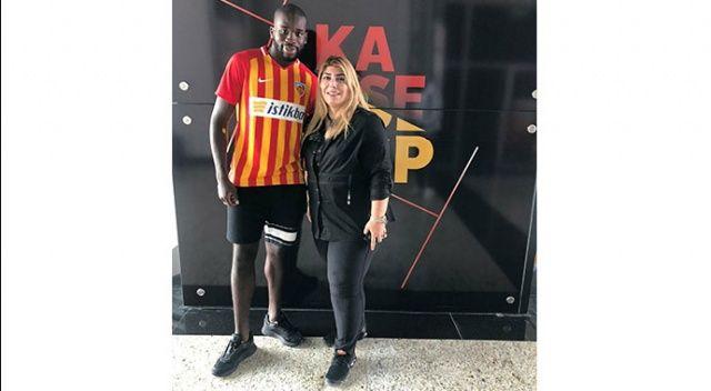 Kayserispor Kanga'yı transfer etti