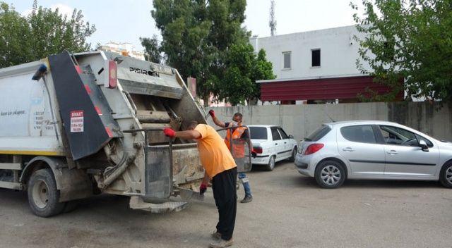 Kozanlı temizlik işçileri sosyal medyada ilgi odağı oldu