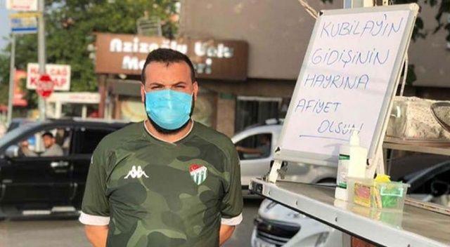 Kubilay Kanatsızkuş Bursaspor'dan ayrılınca taraftar lokma döktürdü