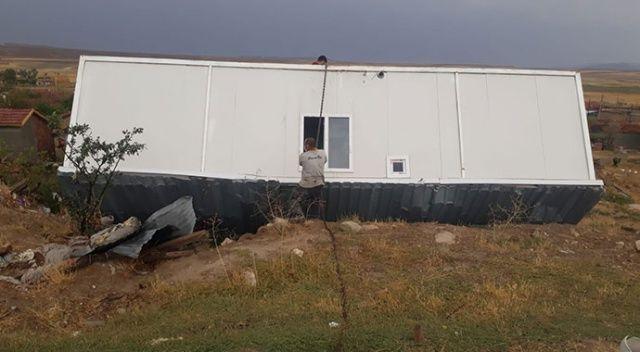 Kum fırtınası ve yağış Eskişehir'i de vurdu
