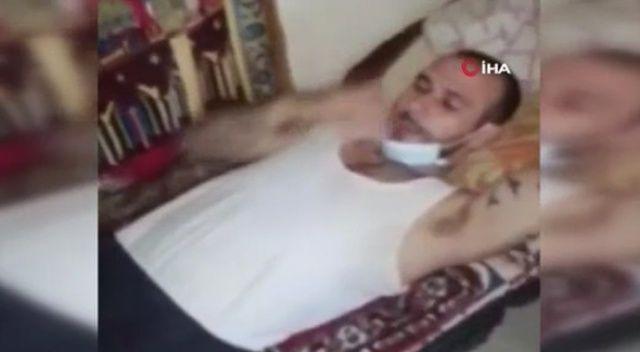 Lübnan'da koronalı mahkumların görüntüleri tepki çekti