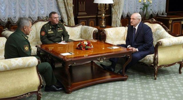 Lukaşenko: Putin'den yeni silahlar istedim