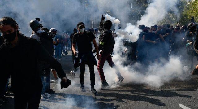 Macron'un gazı Paris'i yaktı