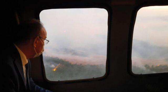 Manisa Valiliğinden orman yangınına ilişkin açıklama