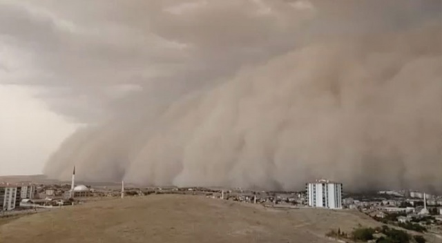 Meteoroloji açıkladı! O il için toz fırtınası uyarısı