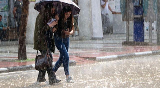 Meteoroloji'den bölge bölge yağmur ve fırtına uyarısı!