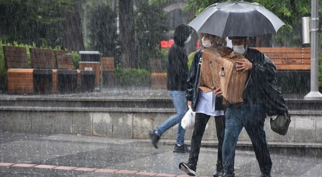 Meteoroloji o bölgeleri il il uyardı... Sağanak yağışa dikkat (18 Eylül 2020 hava durumu)
