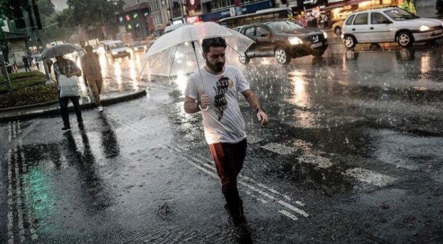 Meteorolojiden sağanak uyarısı (20 Eylül 2020 hava durumu)