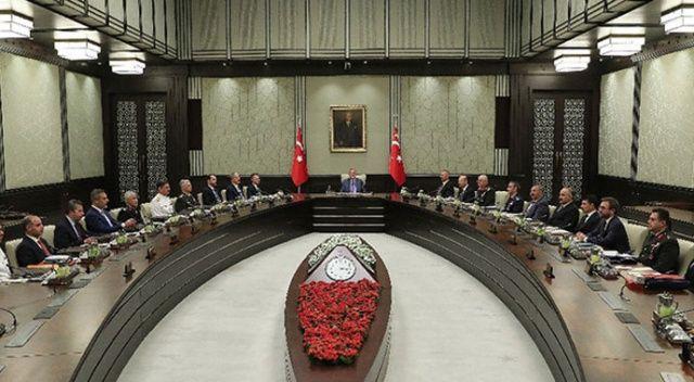 MGK, Cumhurbaşkanı Erdoğan başkanlığında Beştepe'de toplandı
