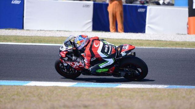 Milli motosikletçi Toprak Razgatlıoğlu İspanya'da 6. oldu