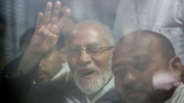 Mısır'da İhvan lideri Bedii'ye müebbet hapis cezası