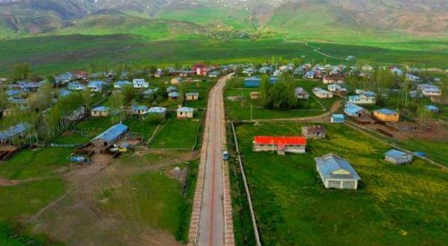 Muş'ta bir köy karantinaya alındı