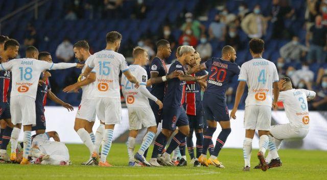Olaylı PSG-Marsilya maçı sonrası federasyon ceza yağdırdı